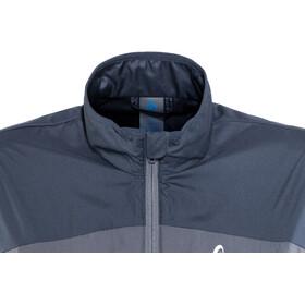 Odlo Core Light Jacket Dame odyssey gray-diving navy